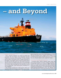 Maritime Logistics Professional Magazine, page 33,  Mar/Apr 2019