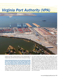 Maritime Logistics Professional Magazine, page 11,  May/Jun 2019