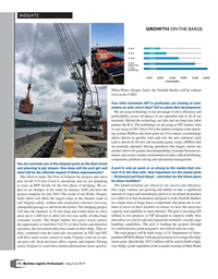 Maritime Logistics Professional Magazine, page 12,  May/Jun 2019