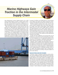 Maritime Logistics Professional Magazine, page 15,  May/Jun 2019