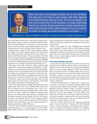 Maritime Logistics Professional Magazine, page 16,  May/Jun 2019