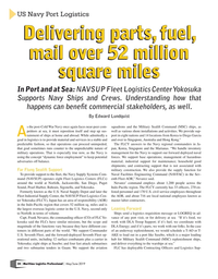 Maritime Logistics Professional Magazine, page 24,  May/Jun 2019