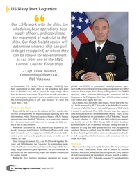 Maritime Logistics Professional Magazine, page 26,  May/Jun 2019