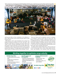 Maritime Logistics Professional Magazine, page 27,  May/Jun 2019
