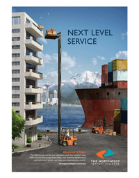 Maritime Logistics Professional Magazine, page 1,  May/Jun 2019