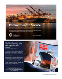Maritime Logistics Professional Magazine, page 5,  May/Jun 2019