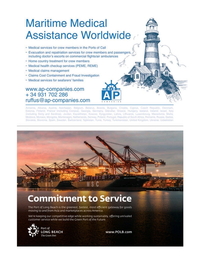 Maritime Logistics Professional Magazine, page 9,  Jul/Aug 2019