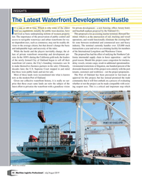 Maritime Logistics Professional Magazine, page 10,  Jul/Aug 2019