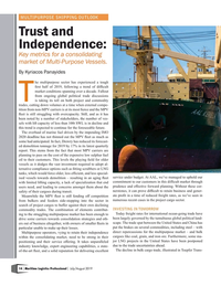 Maritime Logistics Professional Magazine, page 14,  Jul/Aug 2019