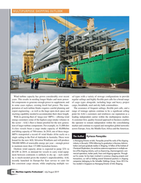 Maritime Logistics Professional Magazine, page 16,  Jul/Aug 2019