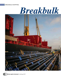 Maritime Logistics Professional Magazine, page 28,  Jul/Aug 2019