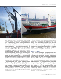 Maritime Logistics Professional Magazine, page 31,  Jul/Aug 2019
