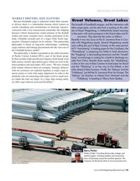 Maritime Logistics Professional Magazine, page 33,  Jul/Aug 2019