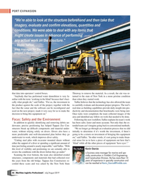 Maritime Logistics Professional Magazine, page 36,  Jul/Aug 2019