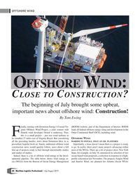 Maritime Logistics Professional Magazine, page 38,  Jul/Aug 2019