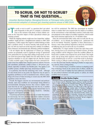 Maritime Logistics Professional Magazine, page 12,  Sep/Oct 2019