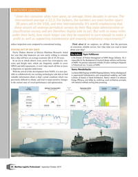 Maritime Logistics Professional Magazine, page 20,  Sep/Oct 2019