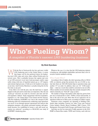 Maritime Logistics Professional Magazine, page 36,  Sep/Oct 2019