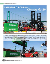 Maritime Logistics Professional Magazine, page 40,  Sep/Oct 2019