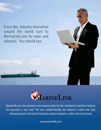 Maritime Logistics Professional Magazine, page 9,  Nov/Dec 2019