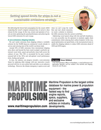 Maritime Logistics Professional Magazine, page 19,  Nov/Dec 2019