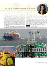 Maritime Logistics Professional Magazine, page 47,  Nov/Dec 2019