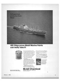 Maritime Reporter Magazine, page 9,  Feb 1968