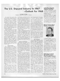 Maritime Reporter Magazine, page 10,  Feb 1968