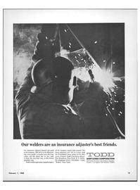 Maritime Reporter Magazine, page 11,  Feb 1968