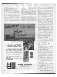 Maritime Reporter Magazine, page 26,  Feb 1968 New York