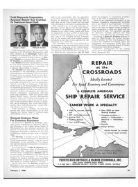 Maritime Reporter Magazine, page 27,  Feb 1968