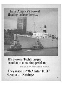 Maritime Reporter Magazine, page 1,  Feb 1968