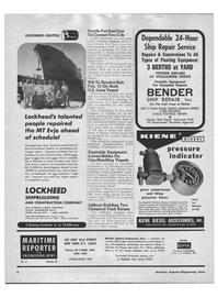 Maritime Reporter Magazine, page 2,  Feb 1968