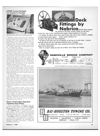 Maritime Reporter Magazine, page 39,  Feb 1968