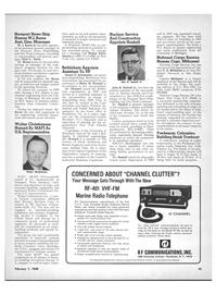 Maritime Reporter Magazine, page 43,  Feb 1968