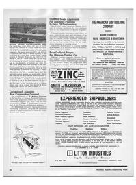 Maritime Reporter Magazine, page 44,  Feb 1968
