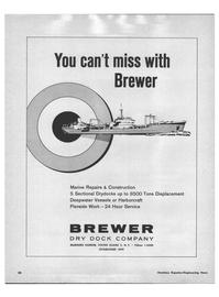 Maritime Reporter Magazine, page 56,  Feb 1968