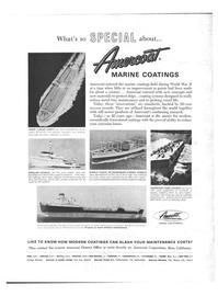 Maritime Reporter Magazine, page 4th Cover,  Feb 1968