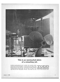 Maritime Reporter Magazine, page 13,  Jan 1969 Shipyards Corporation