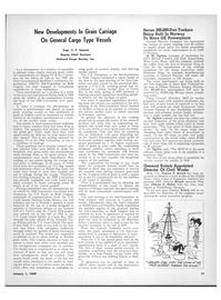 Maritime Reporter Magazine, page 19,  Jan 1969 New Developments In Grain Carriage On General Cargo Type Vessels Capt. S. F. Sammis Deputy Chief Surveyor National Cargo Bureau
