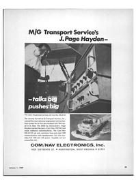 Maritime Reporter Magazine, page 31,  Jan 1969 M/G Transport Services Inc.