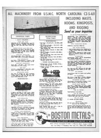 Maritime Reporter Magazine, page 39,  Jan 1969 Water