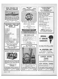 Maritime Reporter Magazine, page 51,  Jan 1969 New York