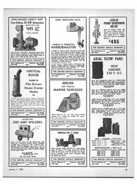 Maritime Reporter Magazine, page 57,  Jan 1969 United States