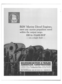 Maritime Reporter Magazine, page 3rd Cover,  Jan 1969