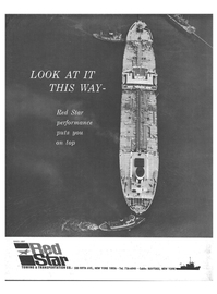 Maritime Reporter Magazine, page 4th Cover,  Jan 1969 SINCE 1897 TOWING & TRANSPORTATION CO.