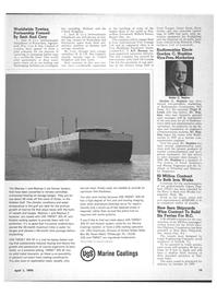 Maritime Reporter Magazine, page 11,  Apr 1970