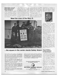 Maritime Reporter Magazine, page 16,  Apr 1970