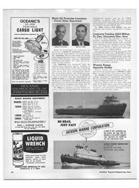 Maritime Reporter Magazine, page 22,  Apr 1970