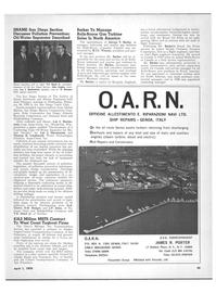 Maritime Reporter Magazine, page 23,  Apr 1970